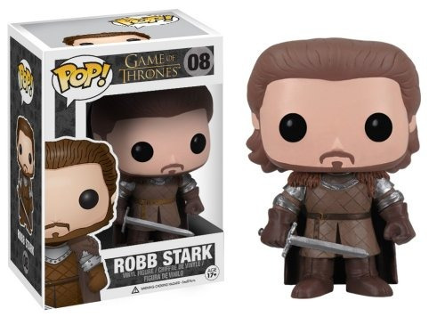 game of thrones 10cm pop! vinilo - robb stark