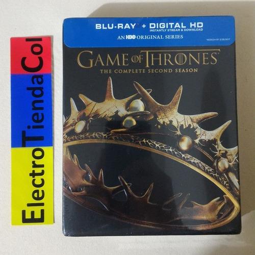 game of thrones 2 segunda temporada blu-ray original sellada