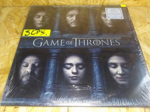 game of thrones 3lps season 6 soundtrack (central vinilo)