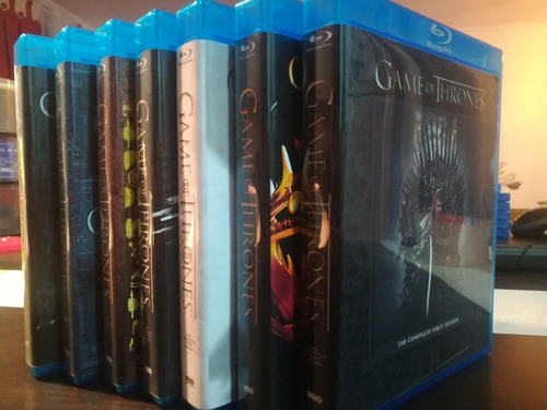 game of thrones 7 temporadas + conquest & rebellion bluray