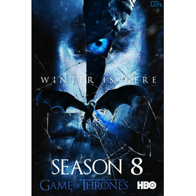 Game Of Thrones 8ª Completa - Dublada Em Dvd - Excelente
