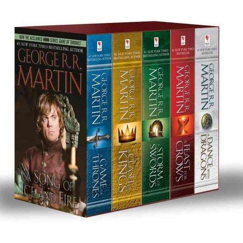 Amazon.com: game of thrones box set books