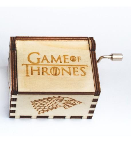 game of thrones caja musical promoción por tiempo limitado