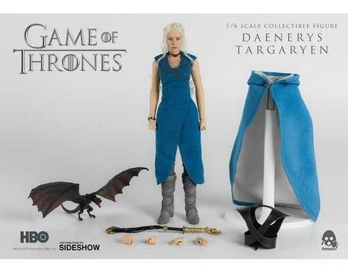 game of thrones daenerys targaryen 1/6 threezero robot negro