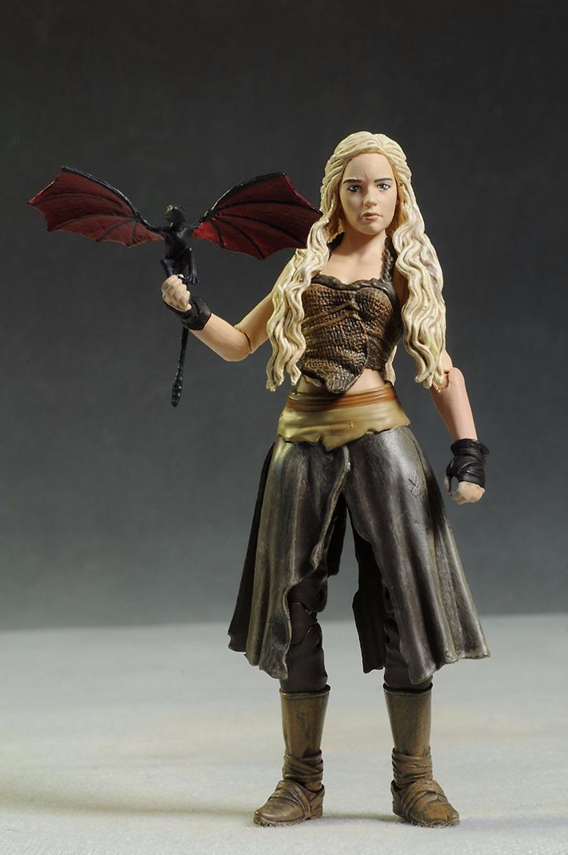 Game Of Thrones Daenerys Targaryen Figura Original De Lujo