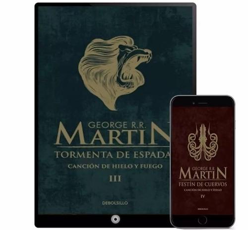 game of thrones de george r. r. martin 32 libros