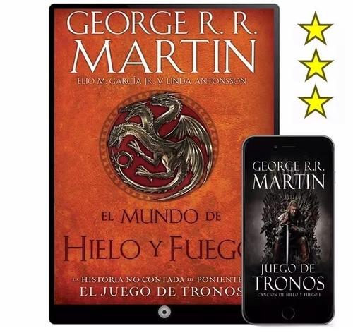 game of thrones de george r. r. martin 33 libros multi