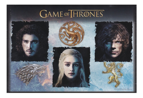 game of thrones got personajes rompecabezas 1000 pz kelvin