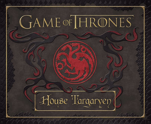 game of thrones: house targaryen deluxe stationery set
