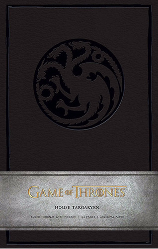 game of thrones: house targaryen hardcover ruled journal