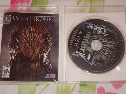 game of thrones ( jogo original playstation 3 )