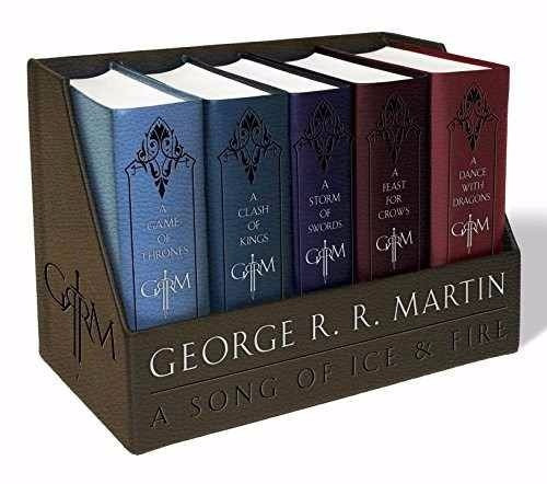 game of thrones juego de tronos box set 5  ed de lujo ingles