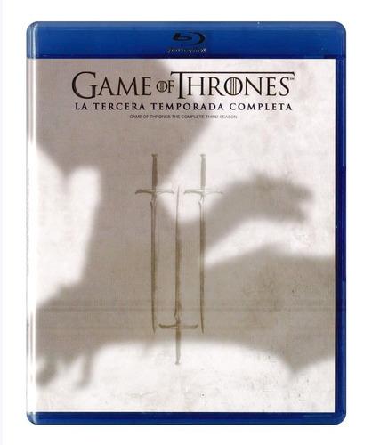 game of thrones juego de tronos temporada 3 blu-ray + funko