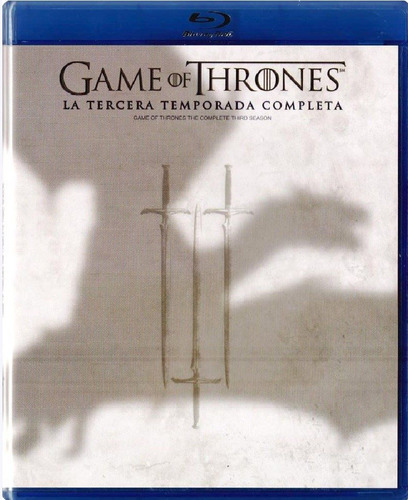 game of thrones juego de tronos temporada 3 tres blu-ray