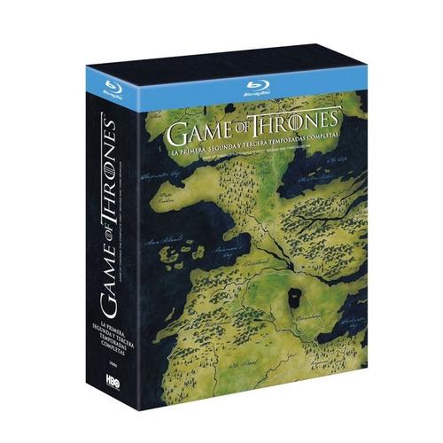game of thrones juego de tronos temporadas 1-4 blu-ray nuevo