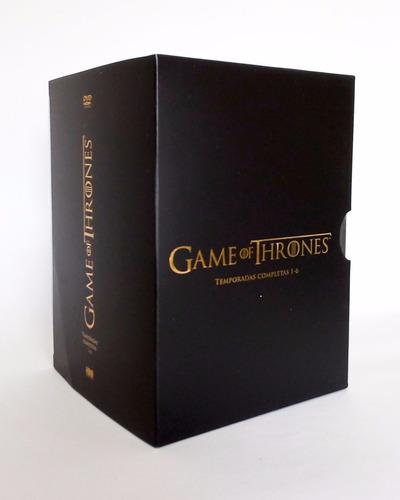 game of thrones juego de tronos temporadas 1 - 6 boxset dvd