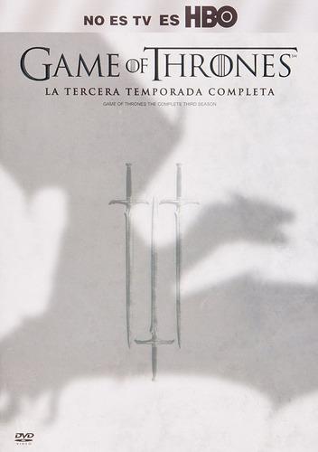 game of thrones juego de tronos tercera temporada 3 tres dvd