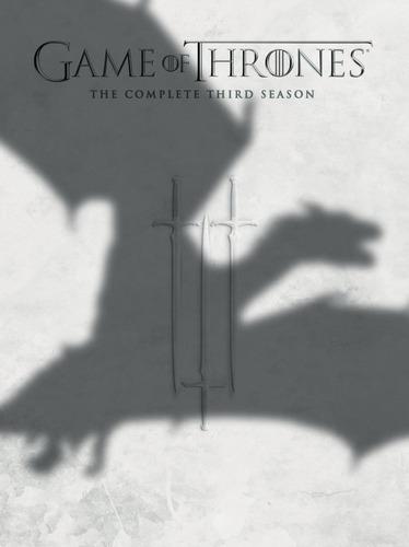 game of thrones - juego de tronos tercera temporada dvd
