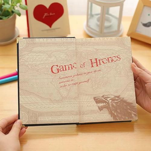 game of thrones - juego de tronos vintage agendas diarios