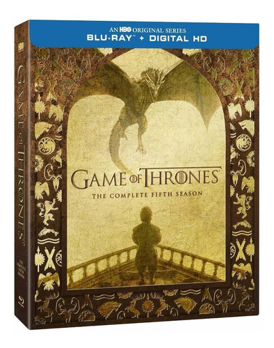 game of thrones juego tronos temporada 5 importada blu-ray
