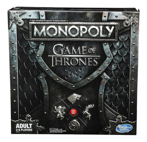 game of thrones monopoly juego de tronos *envio gratis*