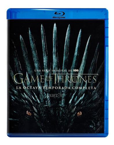 game of thrones octava temporada 8 ocho blu-ray