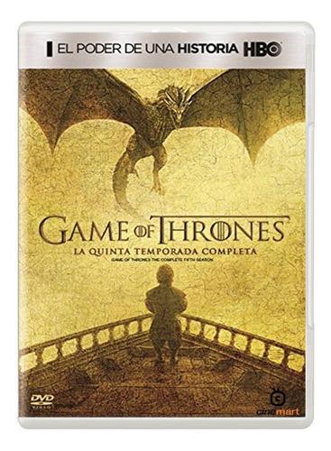 game of thrones quinta temporada 5 juego de tronos serie dvd