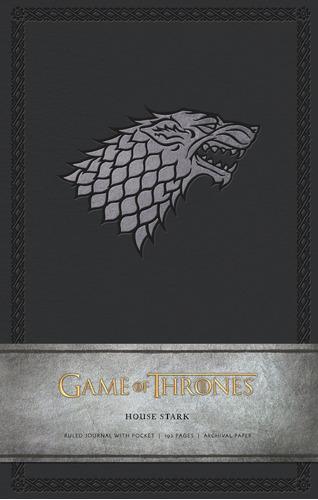 game of thrones ruled journal : house of stark