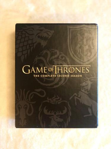 game of thrones segunda temporada bluray digipack (2012)