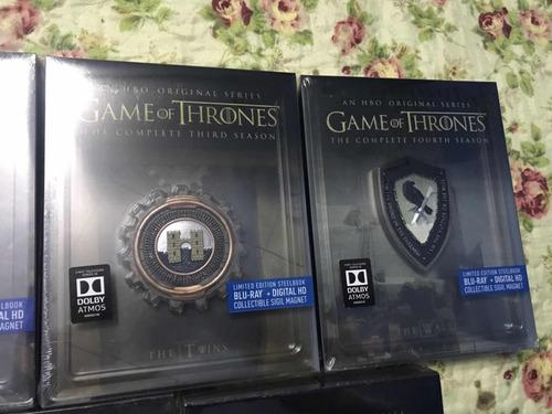 game of thrones - steebook - serie completa