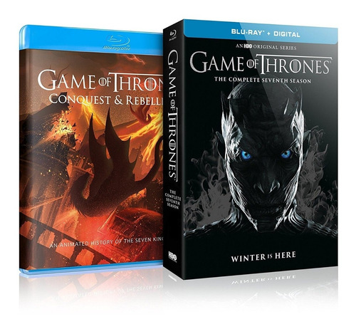 game of thrones : temp 7 - digibook blu ray ed + bonus disc