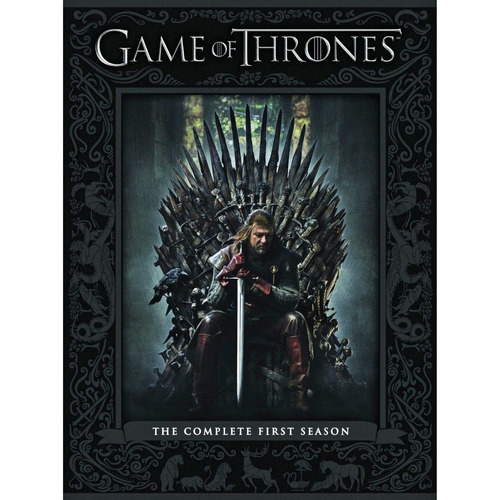 game of thrones temporada 1 box 5 dvd nuevo original cerrado