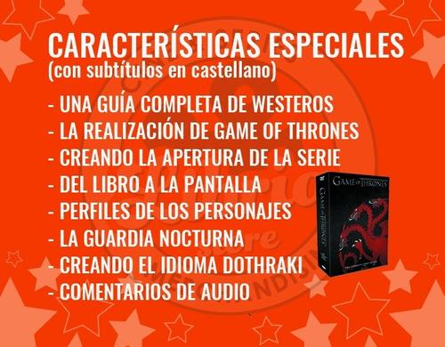 game of thrones temporada 1 completa en dvd original box set