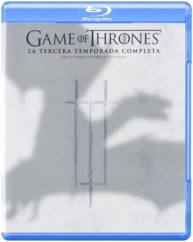 game of thrones temporada 3 nuevo 5 blu ray original cerrado