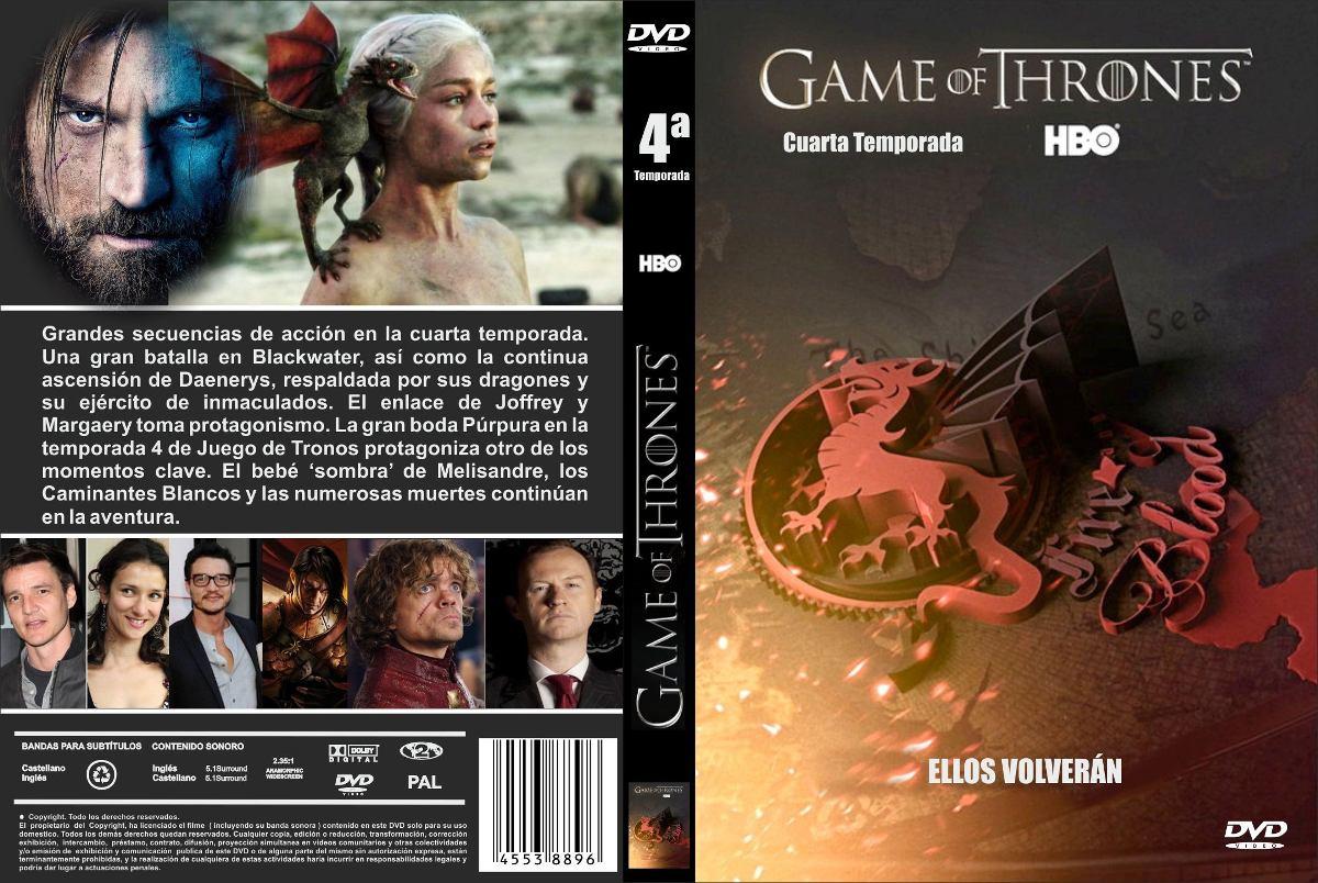 Game Of Thrones Temporada 4 - $ 100,00 en Mercado Libre