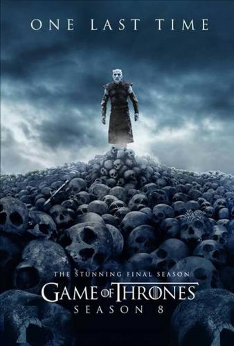 game of thrones temporada 8 completa en dvd.