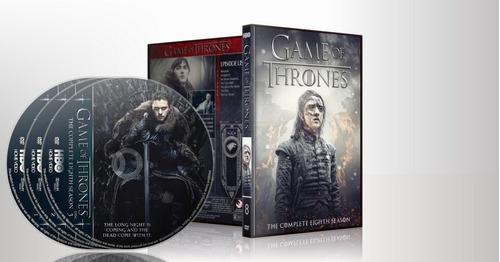 game of thrones  - temporada 8 dvd - completa - final serie