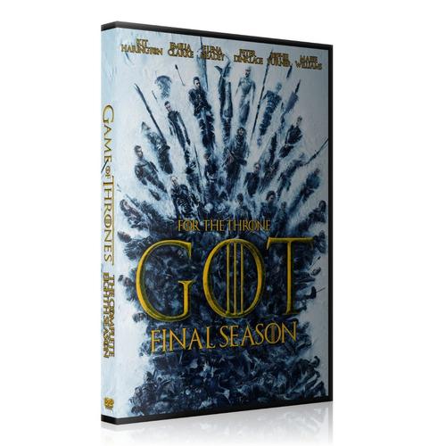 game of thrones temporada 8 dvd lat completa