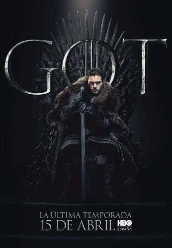 game of thrones temporada 8 full hd español/inglés