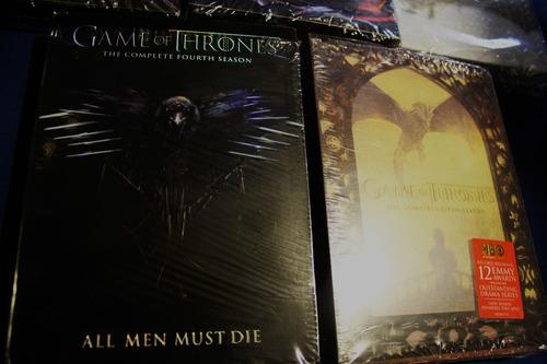 game of thrones temporadas 1-2-3-4-5 completas original
