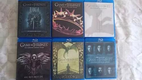 game of thrones temporadas 1-7 en bluray 31 bluray