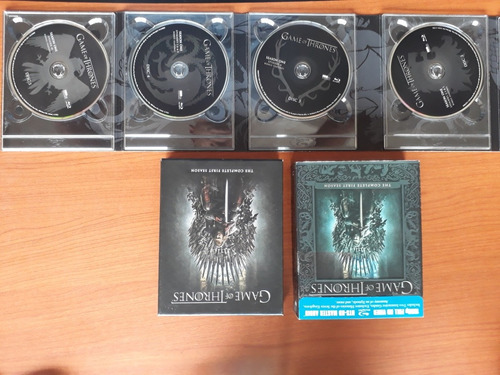 game of thrones: the complete first season (blu ray)