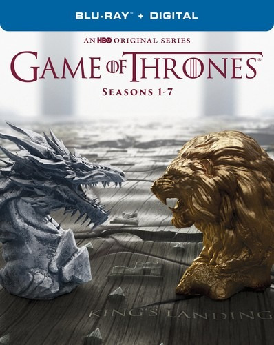 game of thrones: the complete seasons 1-7 blu-ray us import
