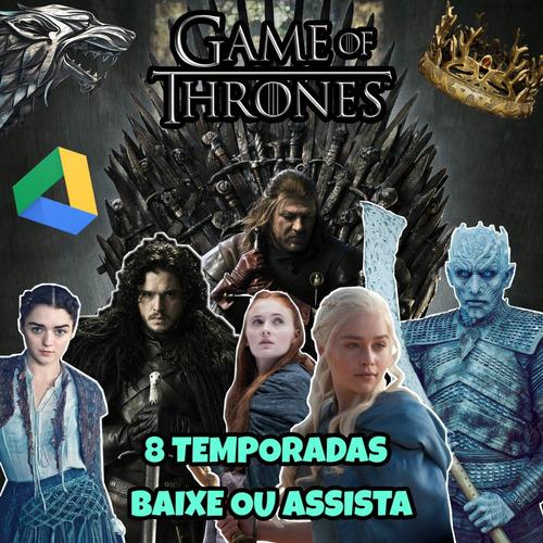 game of thrones todas as 8 temporadas - download