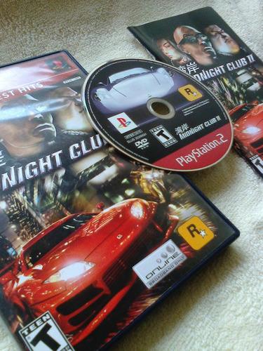 game original - midnight club 2  (ótimo estado )