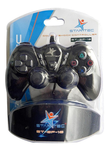 game pad star tec usb negro
