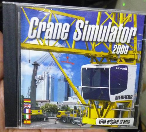 game pc  :  crane simulator  2009  -  importado
