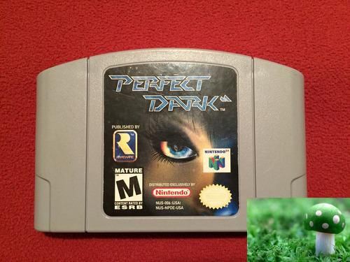 game perfect dark para nintendo 64, en perfecto estado