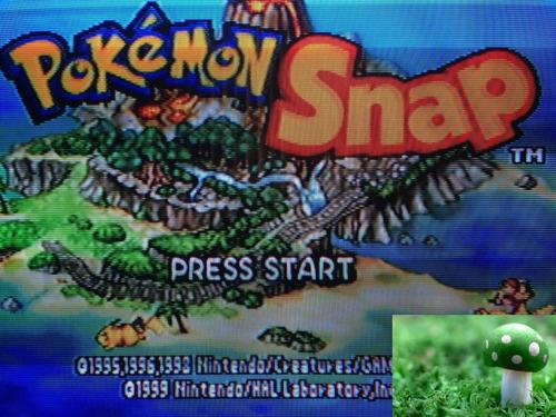game pokémon snap para nintendo 64, en perfecto estado