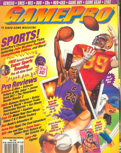 game pro  1993 -